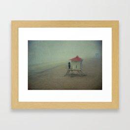 Embrace the Fog Framed Art Print