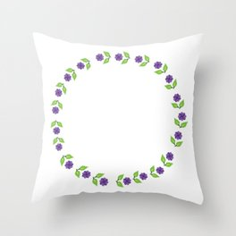 Just Not Loud Strong Couple Gift Throw Pillow