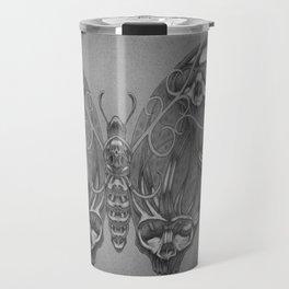 Butterfly skulls 3 Travel Mug