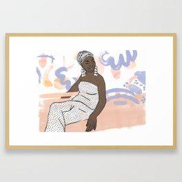 Nina Simone Framed Art Print