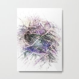 Lilac Eternal Metal Print