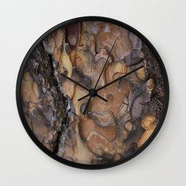 Charred Beauty Wall Clock