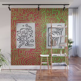 2 Cups Wall Mural