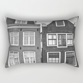 Amsterdam Houses - Urban Photography Rectangular Pillow