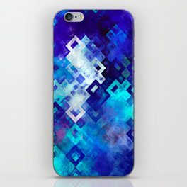 rectangle impressionism iPhone Skin