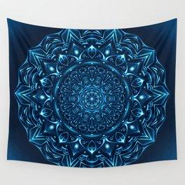 Mandala Night Glow Wall Tapestry