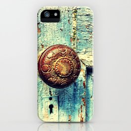 Unused door iPhone Case
