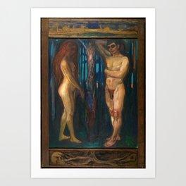 Metabolism by Edvard Munch Art Print