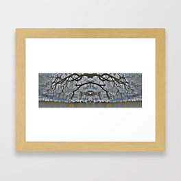 Treeflection VII Framed Art Print