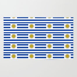 flag of Uruguay-Uruguyan,montevideo,spanish,america,latine,Salto,south america,paysandu,costa,sun Rug
