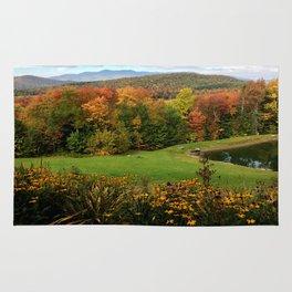 Warren Vermont Foliage Rug