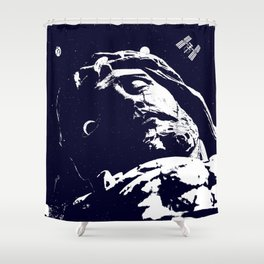 Lord of the Universe Shower Curtain