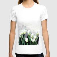 tulips T-shirts featuring Tulips by Bridget Davidson