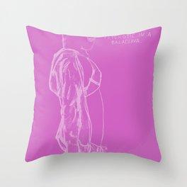 Spring Breakers/Vampire Weekend (Pink) Throw Pillow