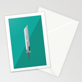 Fusion Swords (Final Fantasy VII AC) Postcard Stationery Cards
