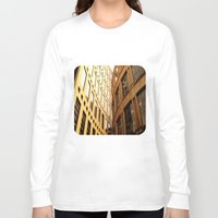 library Long Sleeve T-shirts featuring Library  by Ethna Gillespie