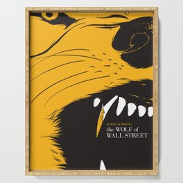 The Wolf of Wall Street | Fan Poster Design Serving Tray