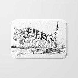 Fierce Bath Mat