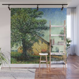 French Country Farm House at La Petite Mare by Francis Picabia Wall Mural