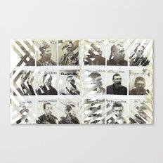 Mug Shreds Canvas Print