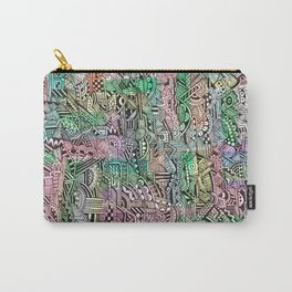 Pastel Abstract Carry-All Pouch
