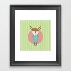 deery Framed Art Print