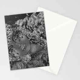 A Moon's Woman * B&W Stationery Cards