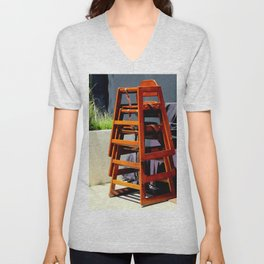 Take Me Higher Chairs Unisex V-Neck