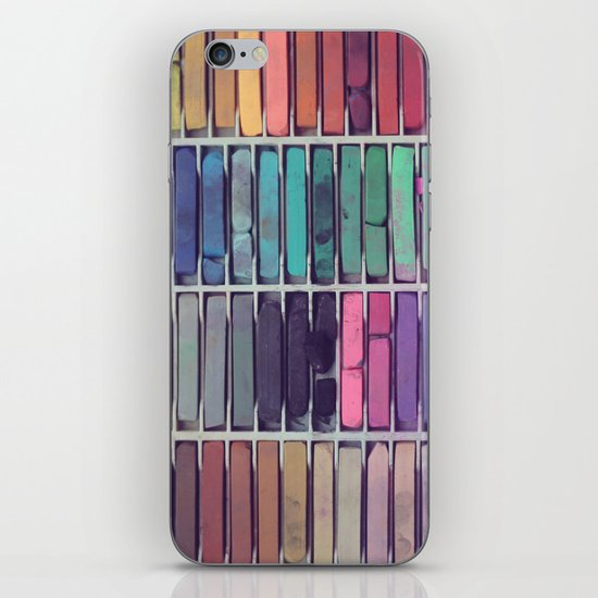 Pastels iPhone & iPod Skin