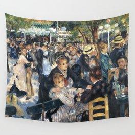Dance at Le Moulin de la Galette by Renoir Wall Tapestry