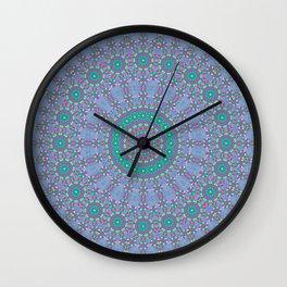 Pastel Mandala 2 Wall Clock
