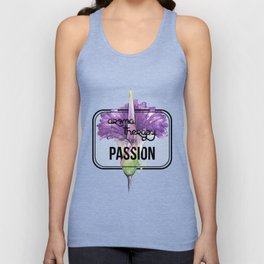 Aromatherapy is my Passion Unisex Tank Top