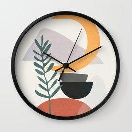 Abstract Shapes No.25 Wall Clock