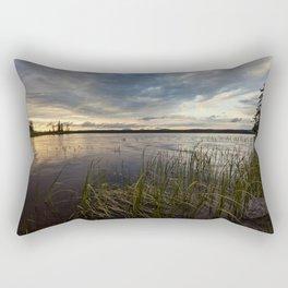 sunset on south bay Rectangular Pillow