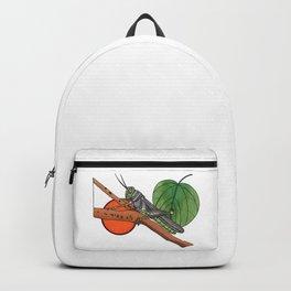 Backyard Grasshopper Backpack
