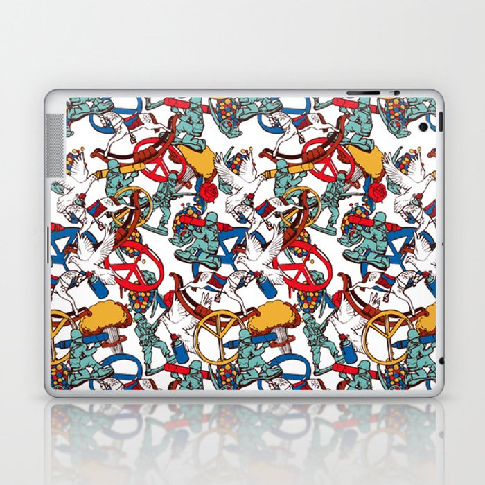 Warpaint Laptop & iPad Skin