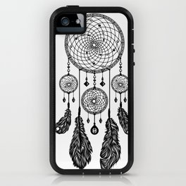 Dreamcatcher (Black & White) iPhone Case