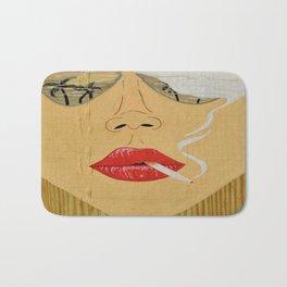 California Dreamin', Smoking Lady Series Bath Mat