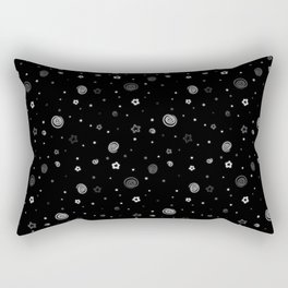 Stars and Swirls Rectangular Pillow