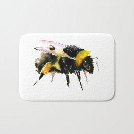 Bumblebee, bee art, bee design, minimalist bee honey Bath Mat