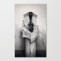 architect Canvas Prints featuring Cloth Architect by Mark Facey