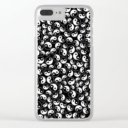 The Yin and the Yang Clear iPhone Case