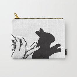 Bunny Shadow Carry-All Pouch