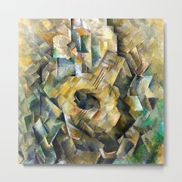 Georges Braque The Guitar Metal Print