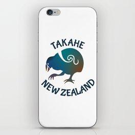 TAKAHE New Zealand Native bird iPhone Skin