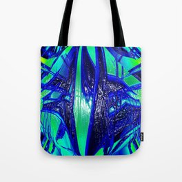 The Paint Of Life Bubblegum Abstract II Tote Bag