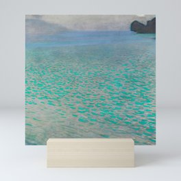 "Gustav Klimt ""Lake Attersee"" Mini Art Print"