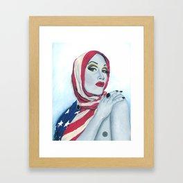 American Ladyboy Framed Art Print