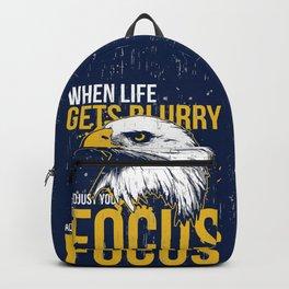 Adjust your Focus Backpack