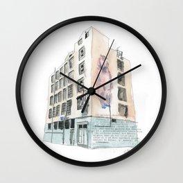 125 Manners Street Wall Clock